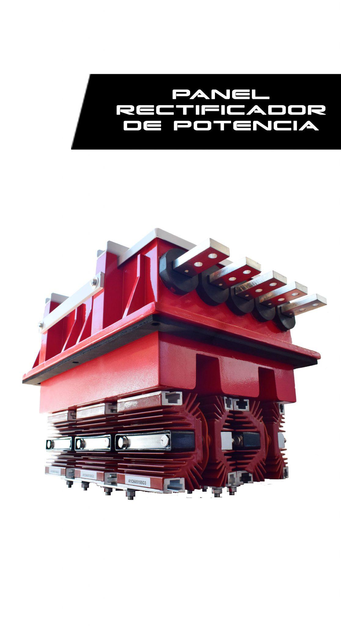 panel rectificador de potencia